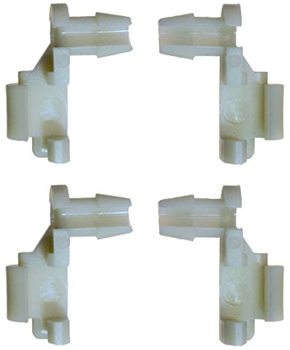 PT Auto Warehouse BCF8898P2 - Door Handle Rod End Retainer Clip - Replace OE #: 88981030, and OE #: 88981031, Set of 4 Retainer Clips