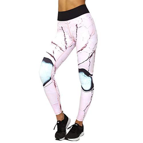 B. Bone Breathable Women Printing Leggings Yoga Pants Vetement Sport Femme Fitness Trousers (Sport Vetement)