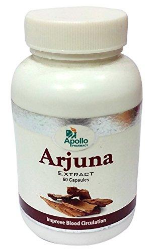 Arjuna Capsules Terminalia Bark Extract product image
