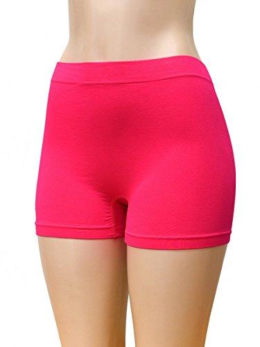 Teejoy Womens Seamless Boyshort Panty
