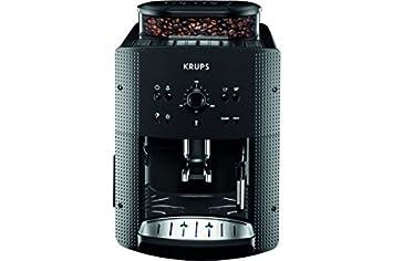 Krups EA 810B Independiente Totalmente automática Máquina espresso 1.7L Negro, Titanio - Cafetera (