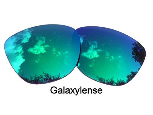hommes Lentilles Vert femmes de Galaxylense remplacement Frogskins ou pour Oakley pour ZB0qFwU