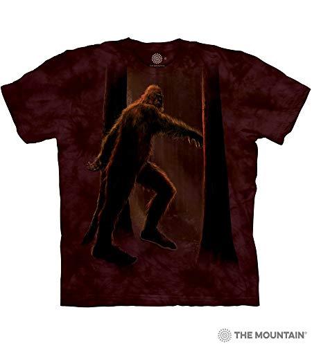 The Mountain Bigfoot Adult T-Shirt, Brown, 2XL