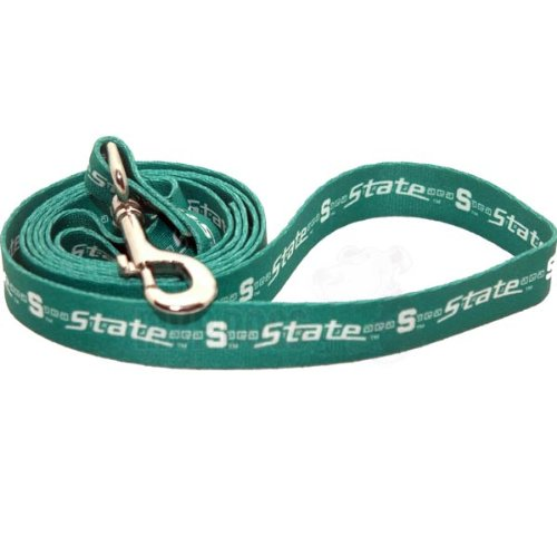 """Michigan State Spartans NCAA Dog Leash L: 6 foot, 1"""" wide"""