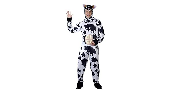 Amazon.com: Mens Adult Cow Stag Do Comedy Animal Bestival Onesie Fancy Dress Costume Outfit by Fancy Me: Toys & Games