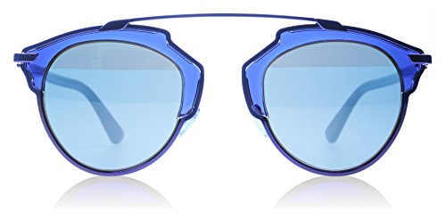 Dior KMA Blue So Real Aviator Sunglasses Lens Category - Blue Dior Sunglasses