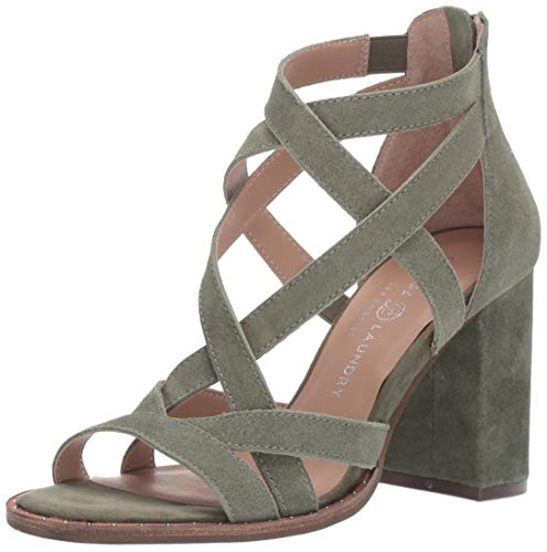 Chinese Laundry Women's Shawnee Sandal, Olive Suede, 7 M US ()