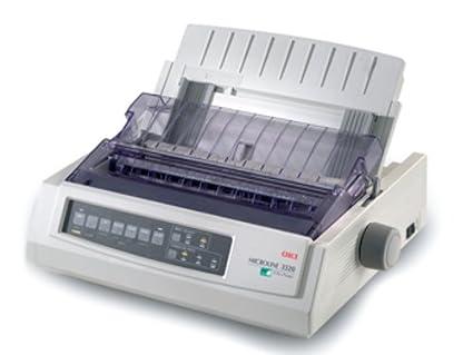 OKI ML 3320 Eco - Impresora Matricial Blanco y Negro: Amazon ...