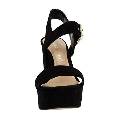 Bruno Premi Mujer zapatos con correa negro