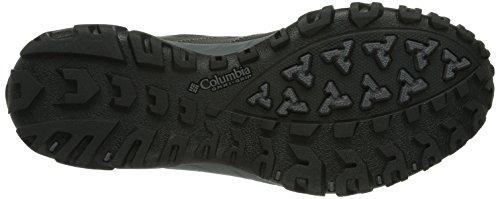 Columbia Redmond Mid Waterproof - Zapatillas para Deportes Hombre Negro (Black / Lux)