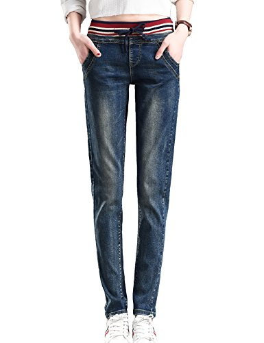 Drawstring Cropped Jeans - 6