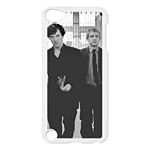 E-Shop Customized Print Benedict Cumberbatch and Martin Freeman Pattern Hard Case for iPod Touch 5 IG193265