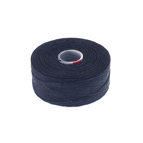 Beadsmith Superlon (S-Lon) Tex45 Size D - Black - 70m