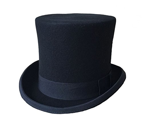 Greatest PT Barnum Cosplay Costume Performance Uniform Showman Party Suit (Small, Black Hat)