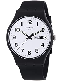 Twice Again White Dial Plastic Silicone Quartz Unisex Watch SUOB705