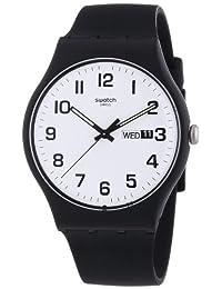 Swatch Men's Originals SUOB705 Black Silicone Swiss Quartz Watch