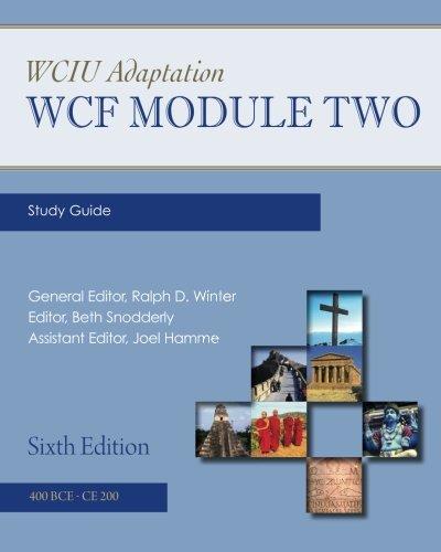 WCIU Adaptation: WCF Module Two Study Guide