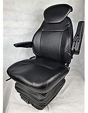 Gorilla Tractorstoel, sleepstoel, graafmachine, stapelstoel, bestuurdersstoel, Basic Eco Plus PVC