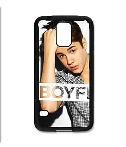 Samsung Galaxy S5 SV Black Rubber Silicone Case - Justin Bieber Boyfriend Believe 1