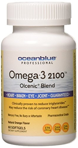 Ocean Blue Omega 2100 Nutritional Supplement, 60 Count Review