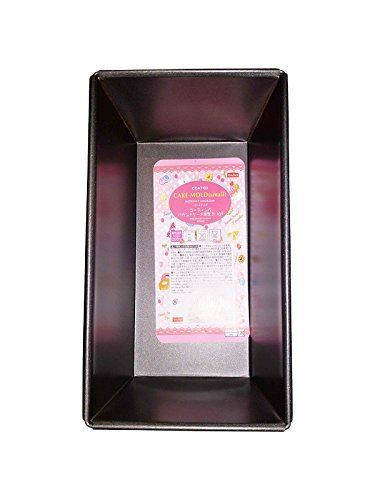 Daiso Japan - Non-Stick Loaf Pan, Pound Cake Mold, Short And Narrow Pan For Making Bread And Pound Cakes 4.55E+12