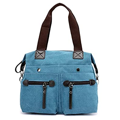 d19ac2c44e4d HITSAN INCORPORATION KVKY Brand Canvas Bag Tote Women Handbags Canvas  Shoulder Bags New Fashion Casual Messenger