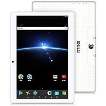 "10.1"" Tablet Google Android 7.1, IPS Display, Quad Core 1.2Ghz,1GB/16GB,Flash Play,G-Sensor,Dual Camera, Bluetooth 4.0, 1GB/16GB, WiFi,GMS Certified ,iRULU eXpro 3 Plus (X3Plus)-X30,White"