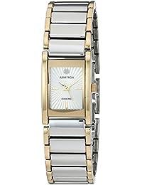 Women's 75/5441SVTT Diamond-Accented Dial Two-Tone Bracelet Watch