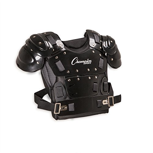 (Champion Sports Umpire Chest Protector: 17 Inch Lightweight Soft Shell Umpire Armor for Softball & Baseball Equipment)