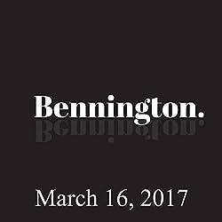 Bennington, March 16, 2017