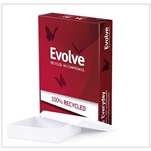 Papier Evolve Everyday Lot de 5 Ramettes de papier 500 feuilles A4 80 gr Blanc