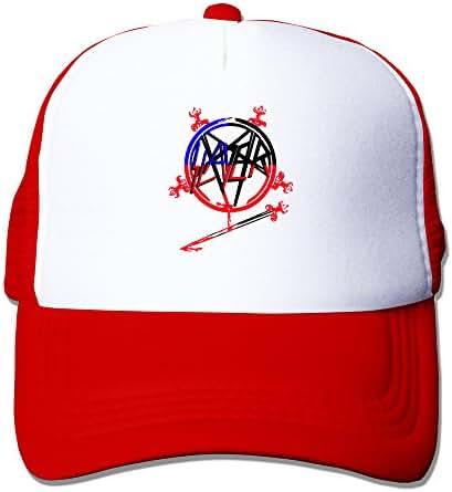 Slayer Thrash Metal Hell Awaits Mesh Adjustable Cool Hat Sunscreen Caps