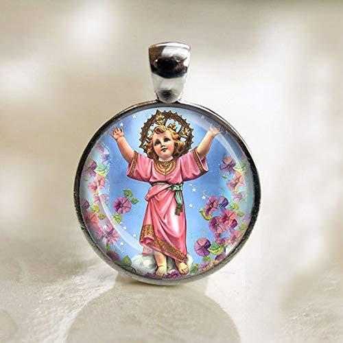 - Jesus Christ Divino Nino Catholic Medal,Divine Child Jesus Religious Christian Pendant