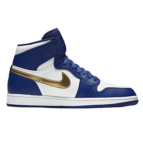 Nike Air Jordan 1 Retro High, Zapatillas de Baloncesto para Hombre azul