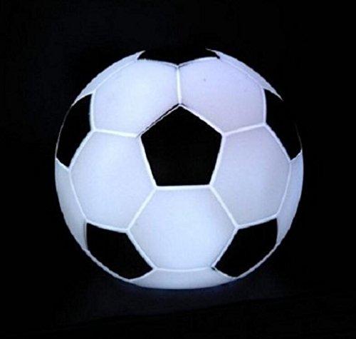Eoamlk 7 Changement de couleur lampe LED Veilleuse Soccer Party Decor Kid jouet