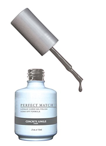 LECHAT Perfect Match Nail Polish, Concrete Jungle, 0.500 Oun