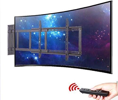 Gpf Soporte de Pared de TV para Pantallas Planas de Plasma LED LCD de 32-55 Pulgadas Ajuste de Altura de Control Remoto eléctrico: Amazon.es: Hogar