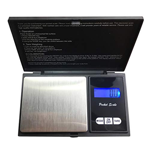 NewKelly High-precision Digital Scales for Gold Jewelry 0.1 Weight Electronic Scale - Theme Tables Scale Series