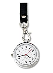 Prestige Medical Nurse Lanyard Watch Military Time