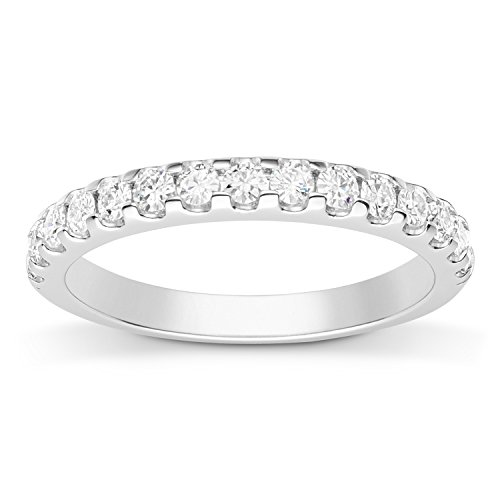 Forever Classic 2.0mm Moissanite Wedding Band-size 6, 0.45cttw DEW by Charles & Colvard from Charles & Colvard