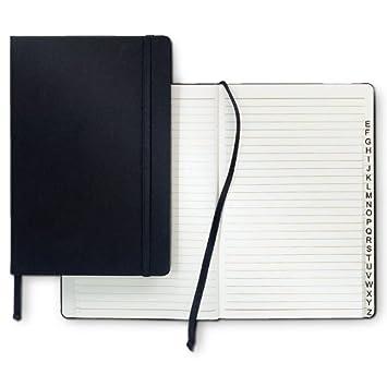 Agenda para direcciones Bloc para notas Con marcador: Amazon ...