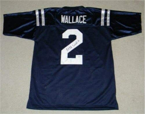 Mike Wallace Autographed Signed Memorabilia Ole Miss Mississippi Rebels #2 Jersey - JSA Authentic
