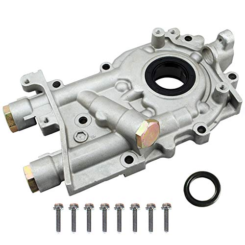 M-online High Performance 12mm Engine Oil Pump for Subaru Forester Outback Impreza Turbocharged EJ20 EJ25 EJ20T EJ205 EJ25T EJ255 EJ257 EJ253 EJ251 EJ25D EJ255 EJ22 EJ22E EJ18E, 2.0L 2.2L - Seal Turbo Oil Pump