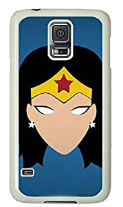 Cool Painting galaxy s5 case,custom samsung galaxy s5 case,PC Material,Drop Protection,Shock Absorbent,white case,cute cartoon pattern,Female knight