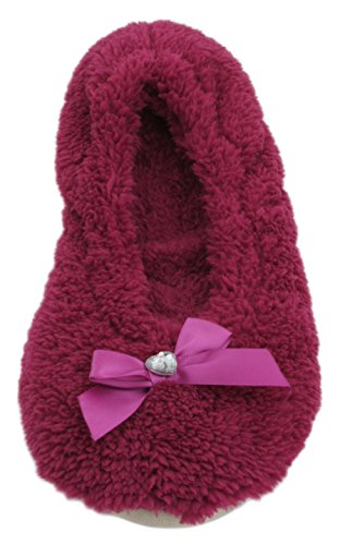 Chaussons KS Rose femme Rose Chaussons Chaussons KS KS Rose femme femme x4YBR