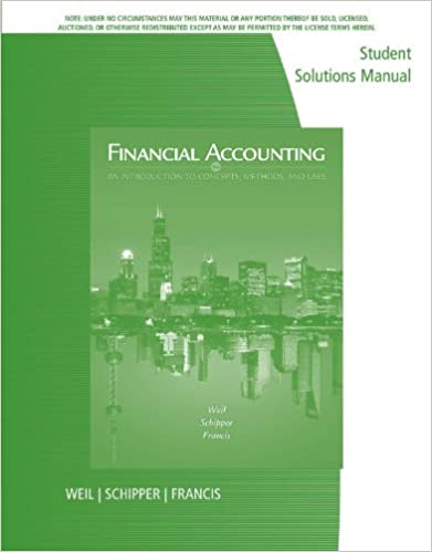 Amazon student solutions manual for weilschipperfrancis student solutions manual for weilschipperfrancis financial accounting an introduction to concepts methods and uses 14th 14th edition kindle edition fandeluxe Images