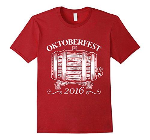 [Men's Oktoberfest Beer Festival Germany German October Drink Shirt 3XL Cranberry] (Oktoberfest Costumes Australia)