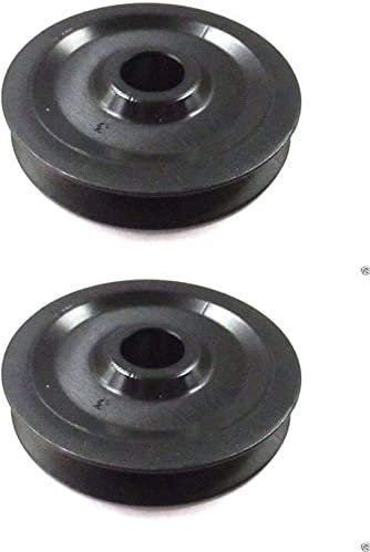 Genuine Original MTD PULLEY-ROLLER CABL Part # 756-04331