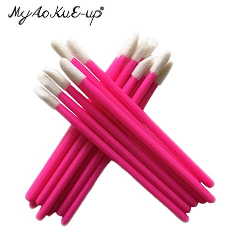 Best Quality - Makeup Brushes - Wholesale Price for 1000 pcs Disposable Cosmetic Lip Brush Lipstick Gloss Wands Applicator Makeup Tool Brushes - by Olwen Shop