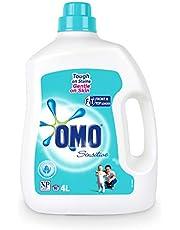 Omo Sensitive Laundry Liquid Detergent Front & Top Loader, 4L